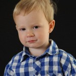 Mr. Serious 2 years old